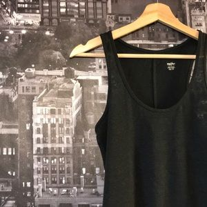 5 FOR $25 [mossimo supply co] Gray Basic Tank
